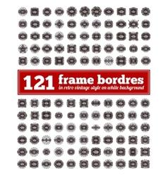 Border Frame Set vector image vector image