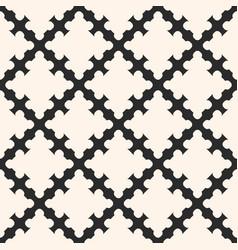 diagonal mesh geometric ornament shapes vector image vector image