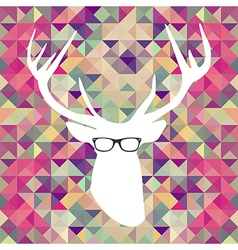 Retro hipsters elements vector image