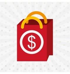 shopping concept design vector image