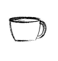 Coffee mug icon vector