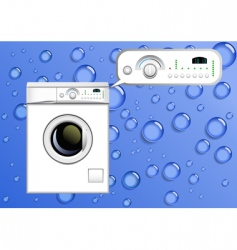Washing machine vector