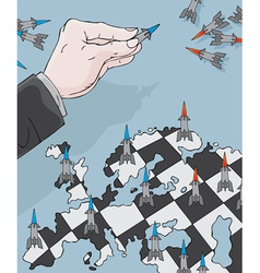 Anti-missile chess vector