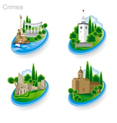 Crimea tourism pict 1st vector