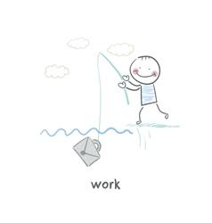 employee vector image vector image