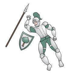 Medieval warrior vector