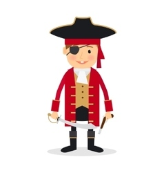 Pirate boy vector