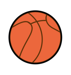 Basket ball cartoon vector