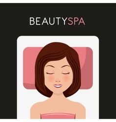 Beauty spa design vector
