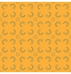 Bubbles chaotic seamless pattern 512 vector