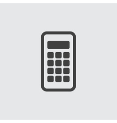 Calculator icon vector image