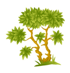 Cartoon decorative tree vector