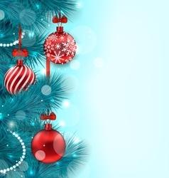 Christmas lighten background vector