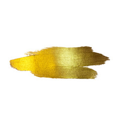 Gold foil watercolor texture vector