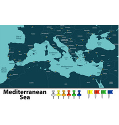 Mediterranean sea vector