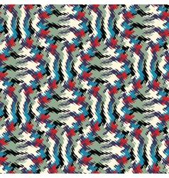 wavy print vector image