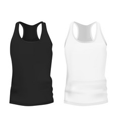 tank top or singlet vector image
