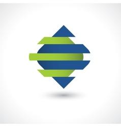 Abstract tech symbol vector