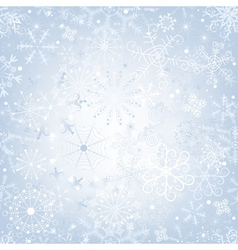 christmas gentle silvery vector image