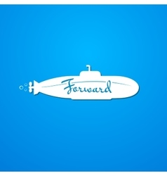 Moving forward logo vector