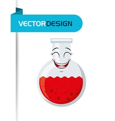 Character school supply design vector