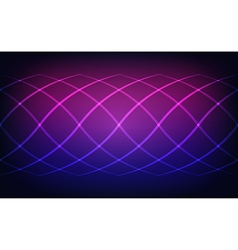 Abstract lines blue and magenta lights background vector image