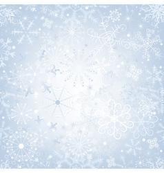 christmas gentle silvery vector image vector image