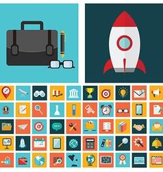 digital marketing symbol business development vector image
