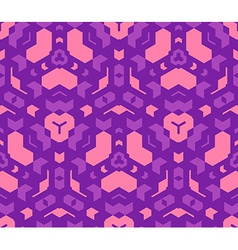Violet purple pink color abstract geometric vector