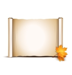 Autumn background with place for text vector