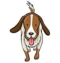 A dog vector image