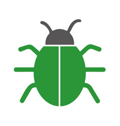 Bug icon image vector