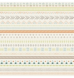 Ethnic colorful seamless pattern vector image