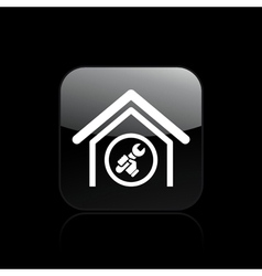 Adjust home icon vector