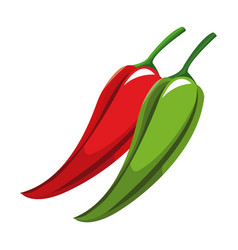 Chili peppers nutrition healthy image vector
