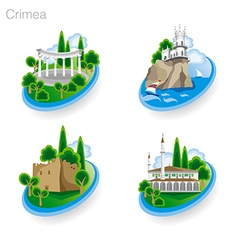 Crimea tourism pict 2nd vector