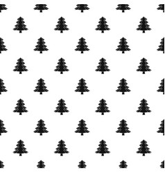Fir tree pattern vector