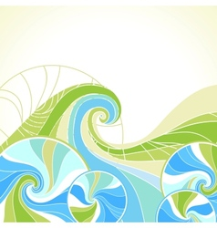 Abstract background stylish element for design vector image
