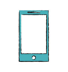 Drawing smartphone phone technology device vector