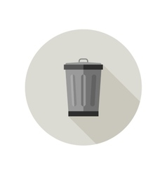 Dumpster icon vector image vector image