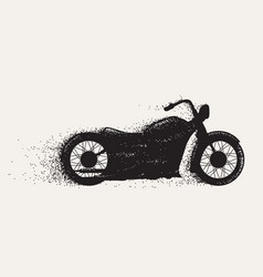 Motorcycle ride motion vector