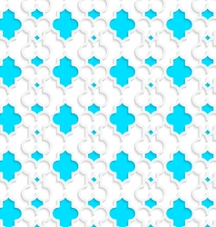 Colored 3d blue marrakech vector