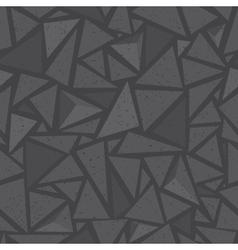 Sharp shapes grey triangles vector