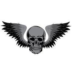 Skull t-shirt design tatoo art vector