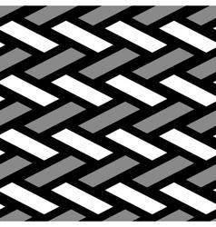 Wicker texture vector image vector image