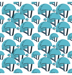 Seamless background for blue helmet vector