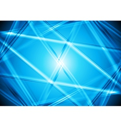 Bright blue design vector image vector image