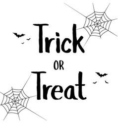 happy halloween style text banner vector image