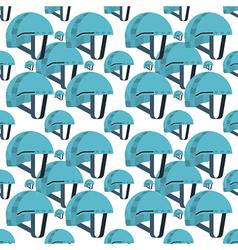 Seamless background for blue helmet vector