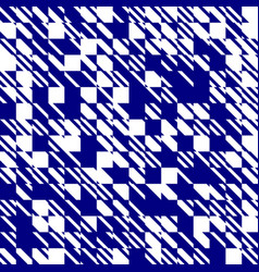 abstract texture diagonal navy blue and white vector image vector image